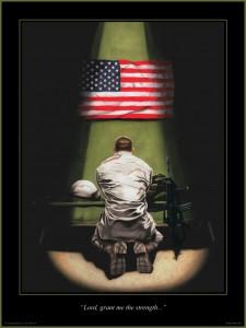 soldier-praying